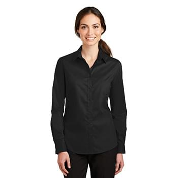Port Authority ®  Ladies SuperPro ™  Twill Shirt. L663