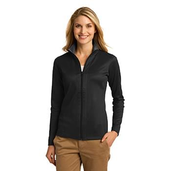 Port Authority ®  Ladies Vertical Texture Full-Zip Jacket. L805