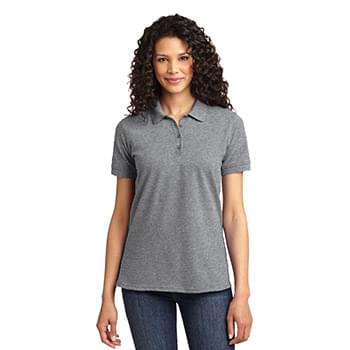 Port & Company ®  Ladies Core Blend Pique Polo. LKP155