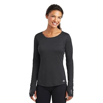 OGIO ®  ENDURANCE Ladies Long Sleeve Pulse Crew. LOE321