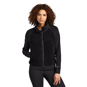 OGIO  ®  Ladies Luuma Sherpa Full-Zip. LOG815