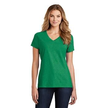 Port & Company  ®  Ladies Fan Favorite  ™  Blend V-Neck Tee. LPC455V