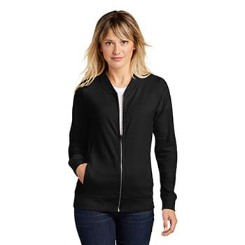 Sport-Tek  ®  Ladies Lightweight French Terry Bomber. LST274