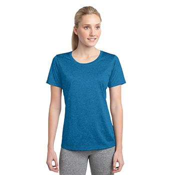 Sport-Tek Ladies Heather ContenderScoop Neck Tee. LST360