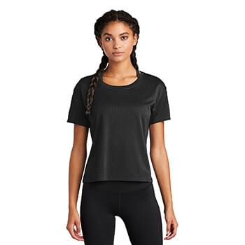 Sport-Tek  ®  Ladies PosiCharge  ®  Draft Crop Tee. LST411
