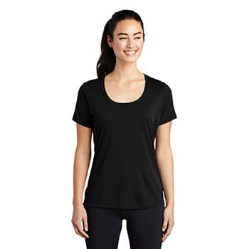 Sport-Tek  ®  Ladies Posi-UV ™  Pro Scoop Neck Tee. LST420