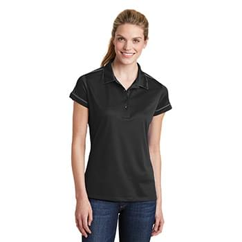 Sport-Tek ®  Ladies Contrast Stitch Micropique Sport-Wick® Polo. LST659