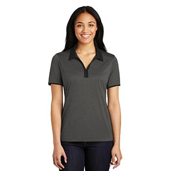 Sport-Tek ®  Ladies Heather Contender ™  Contrast Polo. LST667