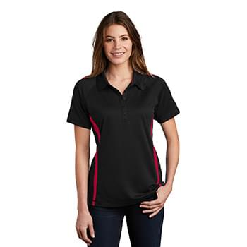 Sport-Tek ®  Ladies PosiCharge ®  Micro-Mesh Colorblock Polo. LST685