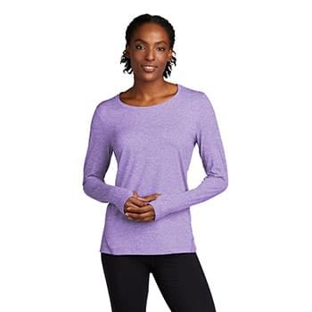 Sport-Tek  ®  Ladies Exchange 1.5 Long Sleeve Crew. LST710