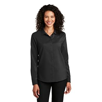 Port Authority  ®  Ladies Long Sleeve Performance Staff Shirt LW401