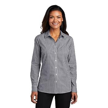 Port Authority  ®  Ladies Broadcloth Gingham Easy Care Shirt LW644