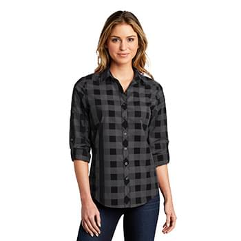 Port Authority  ®  Ladies Everyday Plaid Shirt. LW670