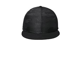 New Era  ®  Camo Flat Bill Snapback Cap NE407