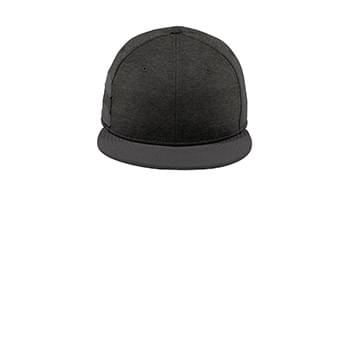 New Era  ®  Shadow Heather Striped Flat Bill Snapback Cap NE408