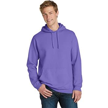 Port & Company ®  Beach Wash ™  Garment-Dyed Pullover Hooded Sweatshirt. PC098H