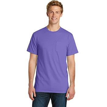 Port & Company ®  Beach Wash ™  Garment-Dyed Pocket Tee.  PC099P