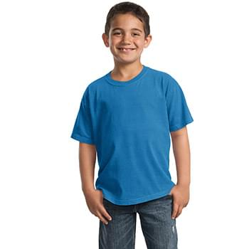 Port & Company ®  Youth Beach Wash ™  Garment-Dyed Tee. PC099Y
