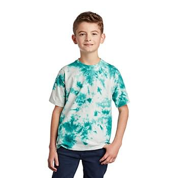 Port & Company  ®  Youth Crystal Tie-Dye Tee PC145Y