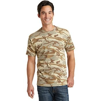 Port & Company ®  Core Cotton Camo Tee.  PC54C