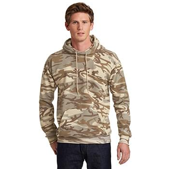 Port & Company ®  Core Fleece Camo Pullover Hooded Sweatshirt. PC78HC