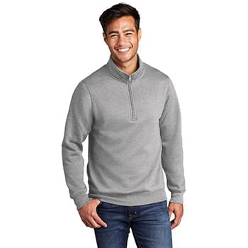 Port & Company  ®  Core Fleece 1/4-Zip Pullover Sweatshirt PC78Q