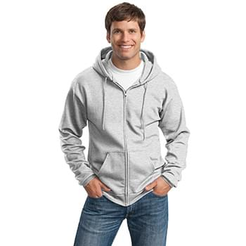 Port & Company ®  Tall Essential Fleece Full-Zip Hooded Sweatshirt. PC90ZHT
