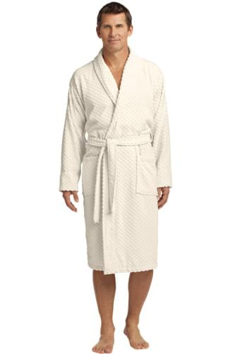 Port Authority ®  Checkered Terry Shawl Collar Robe. R103