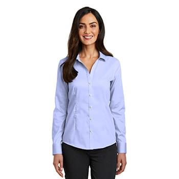 Red House ®   Ladies Pinpoint Oxford Non-Iron Shirt. RH250