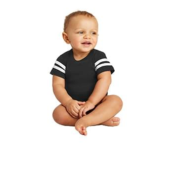 Rabbit Skins ™  Infant Football Fine Jersey Bodysuit. RS4437