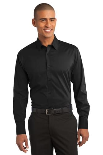 Port Authority ®  Stretch Poplin Shirt. S646