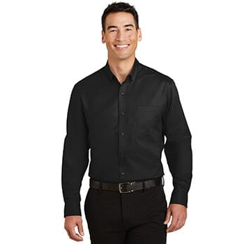 Port Authority ®  SuperPro ™  Twill Shirt. S663
