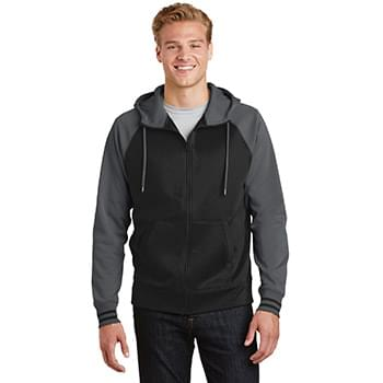Sport-Tek ®  Sport-Wick ®  Varsity Fleece Full-Zip Hooded Jacket. ST236