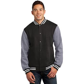 Sport-Tek ®  Fleece Letterman Jacket. ST270