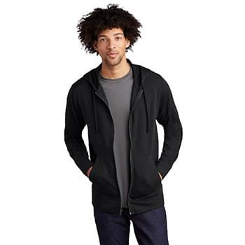Sport-Tek  ®  PosiCharge  ®  Tri-Blend Wicking Fleece Full-Zip Hooded Jacket ST293