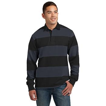 Sport-Tek ®  Classic Long Sleeve Rugby Polo. ST301