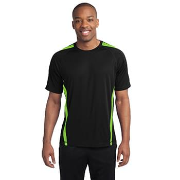 Sport-Tek ®  Colorblock PosiCharge ®  Competitor™ Tee. ST351