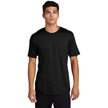 Sport-Tek  ®  PosiCharge  ®  Tri-Blend Wicking Draft Tee. ST410