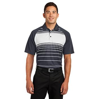 Sport-Tek ®  Dry Zone ®  Sublimated Stripe Polo. ST600