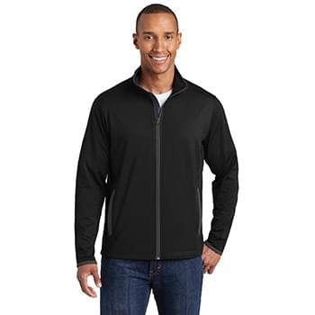 Sport-Tek ®  Sport-Wick ®  Stretch Contrast Full-Zip Jacket.  ST853