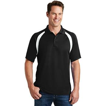 Sport-Tek ®  Dry Zone ®  Colorblock Raglan Polo. T476