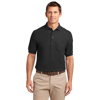 Port Authority ®  Tall Silk Touch™ Polo with Pocket. TLK500P