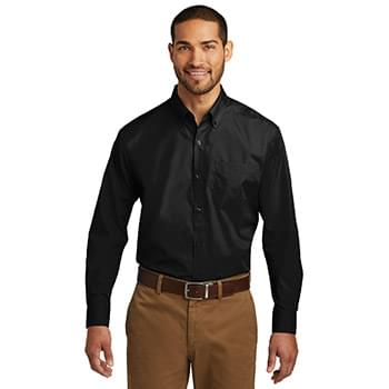 Port Authority ®  Long Sleeve Carefree Poplin Shirt. W100