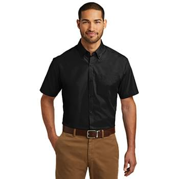 Port Authority ®  Short Sleeve Carefree Poplin Shirt. W101