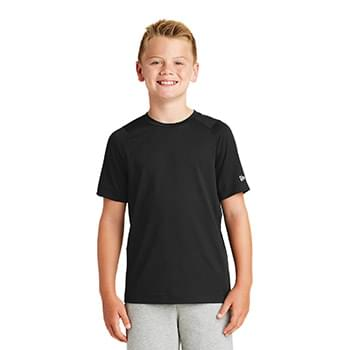 New Era  ®  Youth Series Performance Crew Tee. YNEA200