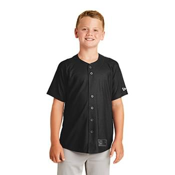 New Era  ®  Youth Diamond Era Full-Button Jersey. YNEA220