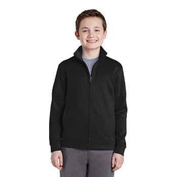Sport-Tek ®  Youth Sport-Wick ®  Fleece Full-Zip Jacket.  YST241