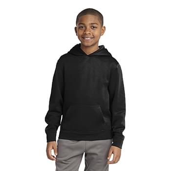 Sport-Tek ®  Youth Sport-Wick ®  Fleece Hooded Pullover. YST244