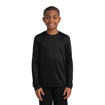 Sport-Tek ®  Youth Long Sleeve PosiCharge ®  Competitor™ Tee. YST350LS