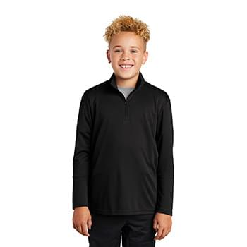 Sport-Tek  ®  Youth PosiCharge  ®  Competitor  ™  1/4-Zip Pullover. YST357